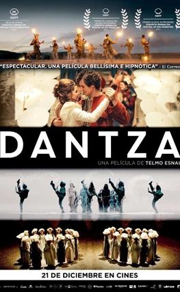 Portada de la película Dantza