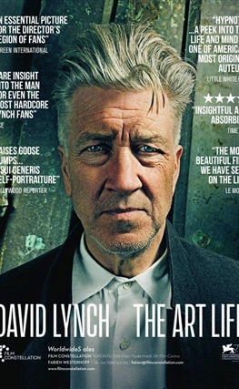Portada de la película David Lynch: The Art Life