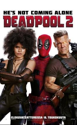 Portada de la película Deadpool 2