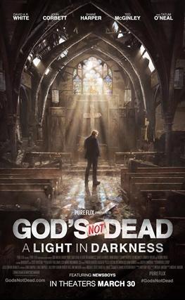 Portada de la película Dios no está muerto: Una luz en la oscuridad