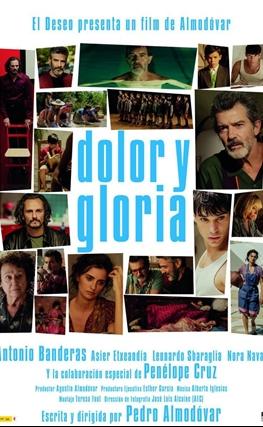 Portada de la película Dolor y gloria