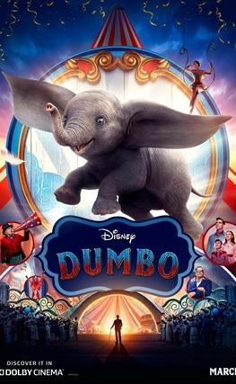 Portada de la película Dumbo