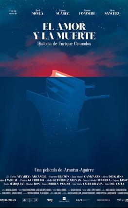 Portada de la película El amor y la muerte. Historia de Enrique Granados