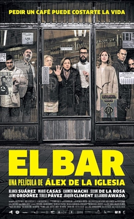 Portada de la película El bar
