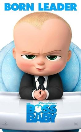 Portada de la película El bebé jefazo