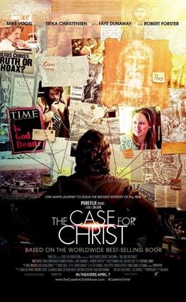 Portada de la película El caso de Cristo