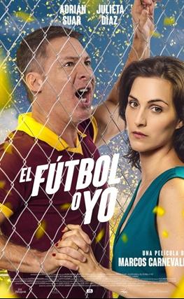 Portada de la película El fútbol o yo