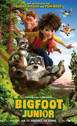 Portada de la película El hijo de Bigfoot
