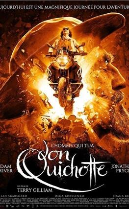 Portada de la película El hombre que mató a Don Quijote