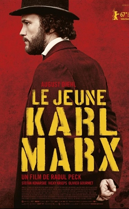 Portada de la película El joven Karl Marx