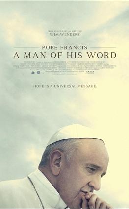 Portada de la película El Papa Francisco, un hombre de palabra