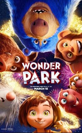Portada de la película El parque mágico