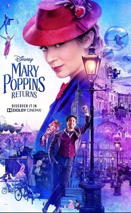 Portada de la película El regreso de Mary Poppins