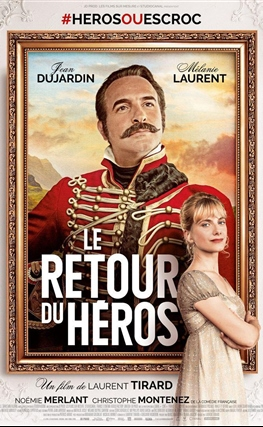 Portada de la película El regreso del héroe