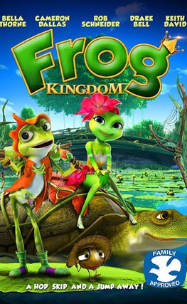 Portada de la película El reino de las ranas