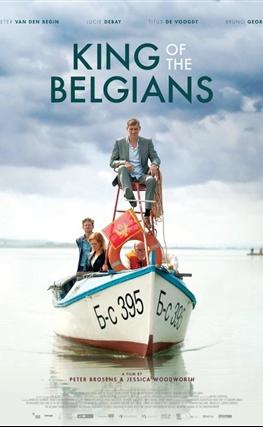 Portada de la película El rey de los belgas