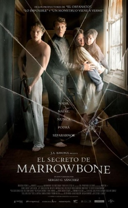 Portada de El secreto de Marrowbone