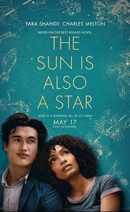 Portada de la película El sol también es una estrella