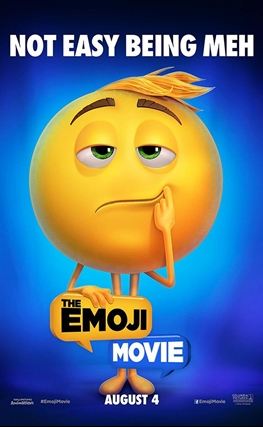 Portada de la película Emoji: La película