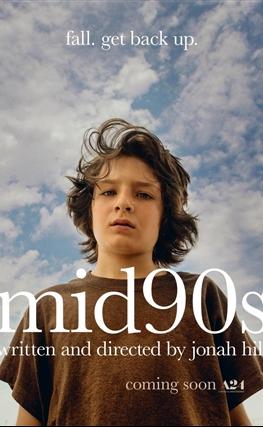 Portada de la película En los 90