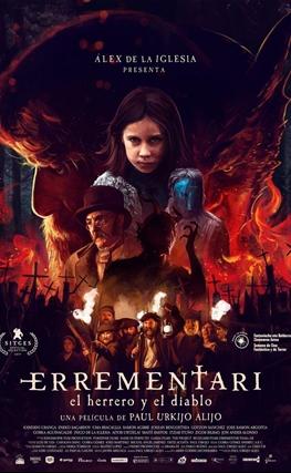 Portada de la película Errementari (El herrero y el diablo)