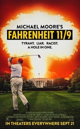 Portada de la película Fahrenheit 11/9