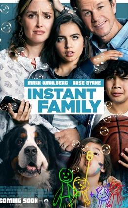 Portada de la película Familia al instante