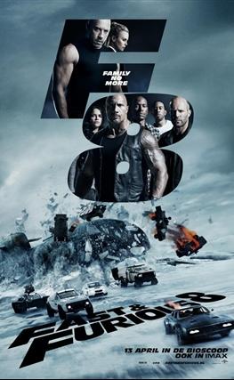 Portada de Fast & Furious 8