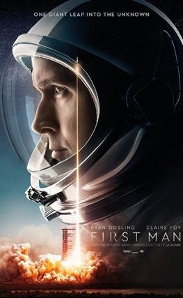Portada de First Man (El primer hombre)