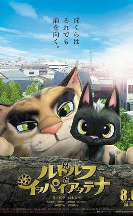 Portada de la película Gatos. Un viaje de vuelta a casa