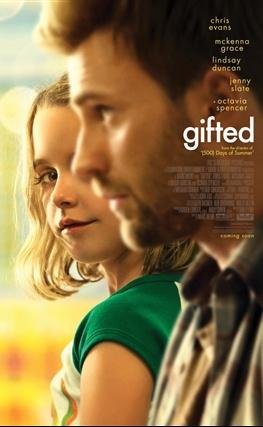 Portada de la película Gifted