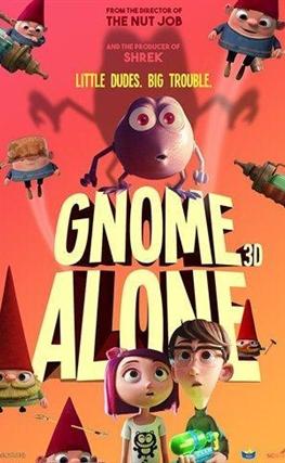 Portada de la película Gnome Alone