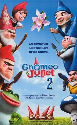 Portada de la película Gnomeo & Juliet: Sherlock Gnomes