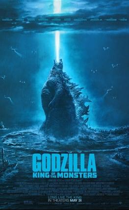 Portada de la película Godzilla: Rey de los monstruos