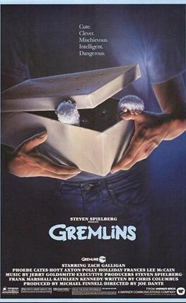 Portada de la película Gremlins