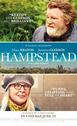 Portada de la película Hampstead