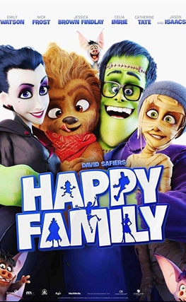 Portada de la película Happy Family
