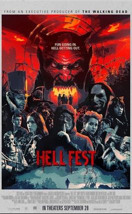 Portada de la película Hell Fest