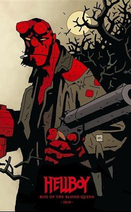 Portada de la película Hellboy: Rise of the Blood Queen