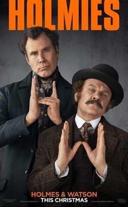 Portada de la película Holmes & Watson