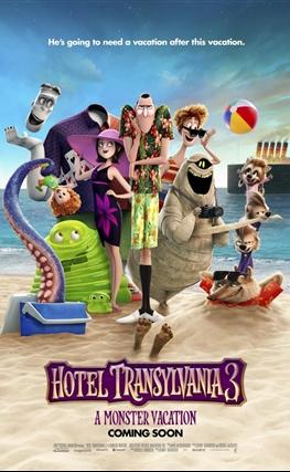 Portada de la película Hotel Transilvania 3: Unas vacaciones monstruosas