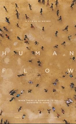Portada de Human Flow (Marea humana)