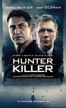 Portada de Hunter Killer. Caza en las profundidades