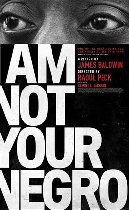 Portada de la película I Am Not Your Negro