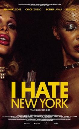 Portada de la película I hate New York