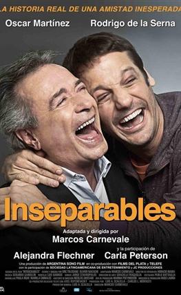 Portada de la película Inseparables