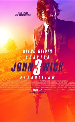 Portada de la película John Wick: Capítulo 3 - Parabellum