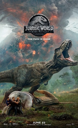 Portada de la película Jurassic World: El reino caído
