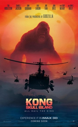 Portada de la película Kong: La isla calavera