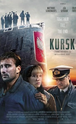 Portada de la película Kursk
